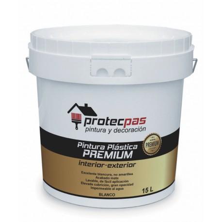 Pintura Plastica Premium Protecpas 15 Ltr